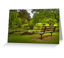 Monet Moment . . . Greeting Card