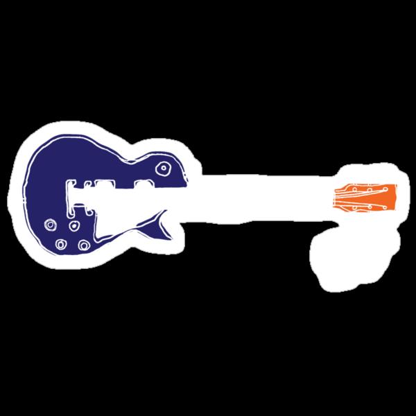 Guitar Blk by roxburgh