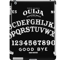 Ouija-White iPad Case/Skin