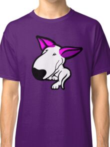 Pink Ears English Bull Terrier Puppy Classic T-Shirt