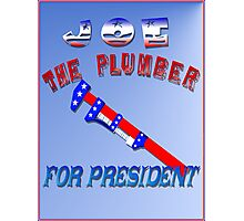 Joe The Plumber  Photographic Print