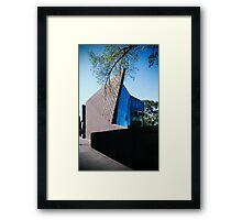 brick blade Framed Print