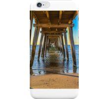 Largs Bay Jetty Underbelly  iPhone Case/Skin