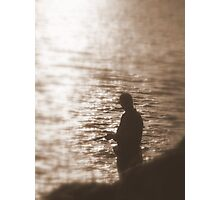 Soulful Fishermen Photographic Print