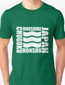 HIROSHIMA, HONSHU Unisex T-Shirt