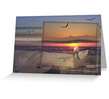 sunsets I Greeting Card