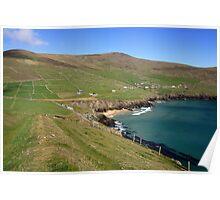 Dingle coastline Poster