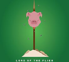 Literary Classics Illustration  Series: Lord of the Flies by wata1989