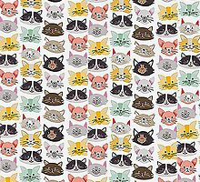 Cats - Iphone 6 Case by Mbart94