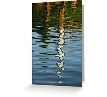 coloured water Greeting Card