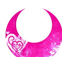 Sailor Chibi Moon grunge symbol by Greven