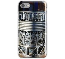 recycled trash containers iPhone Case/Skin