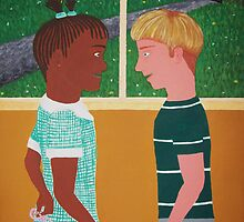 Innocence Is Bliss (Happy 90th Bday Mr Nelson Mandela!) by Sophia Spencer