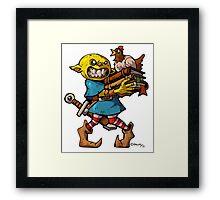 Chicken Goblin   Framed Print