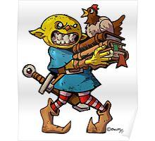 Chicken Goblin   Poster
