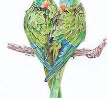 Love Birds by cardsbymel