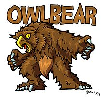 Owlbear Photographic Print