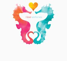 Love Seahorses - Heart Sun Unisex T-Shirt