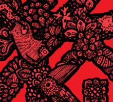Floral Spring Festival couplet [Spring] -Animals Sticker