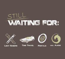 Still Waiting - Minimalist by thehookshot