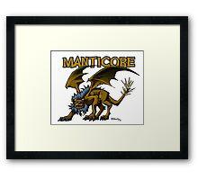Manticore Framed Print