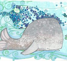 Whale of a Day by JillelaineArt