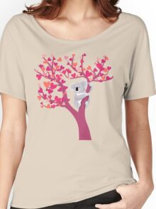 Love Koala in Tree Women's Relaxed Fit T-Shirt