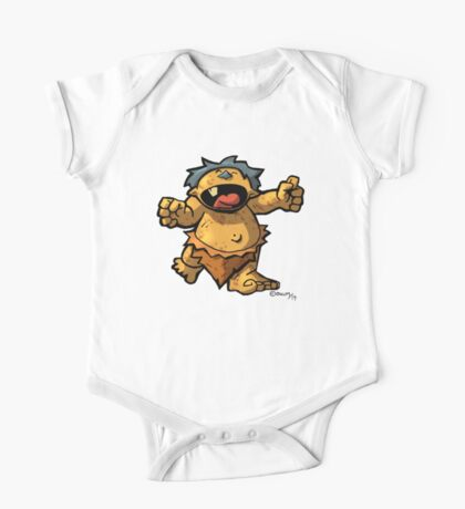 Baby Monster One Piece - Short Sleeve
