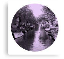 Amsterdam Canal #2 Canvas Print