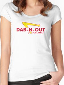 DAB-N-OUT Full Melt Women's Fitted Scoop T-Shirt