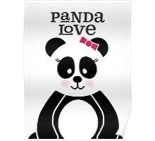 Panda Love Poster