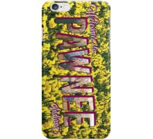 Pawnee Vintage Postcard iPhone Case/Skin