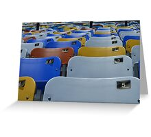 DAYTONA INTERNATIONAL SPEEDWAY SEATS Greeting Card