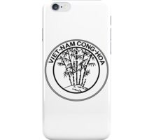 Coat of Arms of South Vietnam, 1955-1957 iPhone Case/Skin