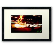 88mph Framed Print