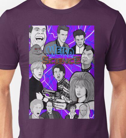 weird science 30th anniversary collage Unisex T-Shirt