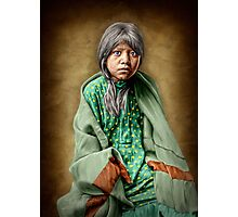 A Taos girl Photographic Print