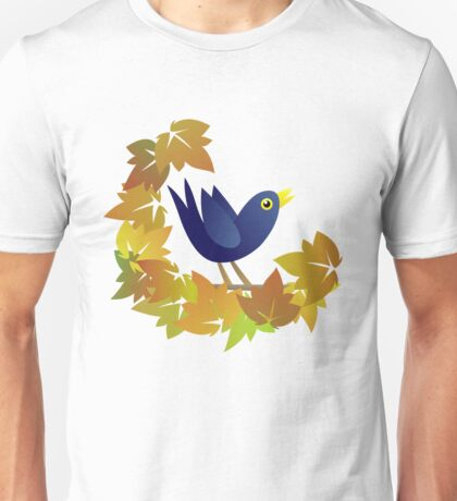Mr B - Singing in the Autumn Unisex T-Shirt