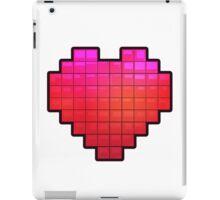 Large Pixel Heart iPad Case/Skin