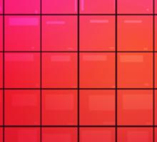 Large Pixel Heart Sticker