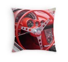 Vette Cockpit Throw Pillow