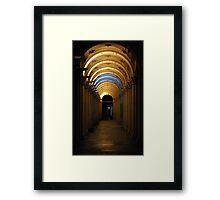 Metro Meanderings Framed Print