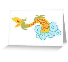 HIPPIE DWAGGIN Greeting Card