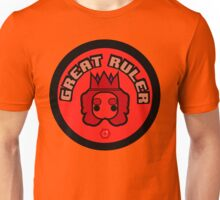 Great Ruler (Red) Unisex T-Shirt