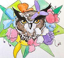 Great Horned Owl by Lovonne