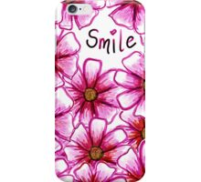 Smile Flower iPhone Case/Skin