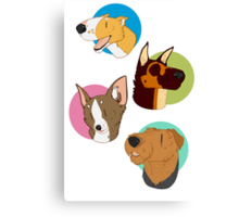 Dog spots Canvas Print