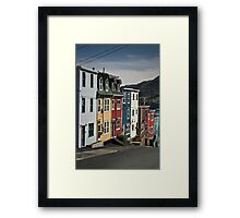 Jellybean Row Framed Print