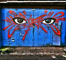 My dog sighs in Camden by Tim Constable