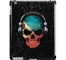 Dj Skull with Filipino Flag iPad Case/Skin